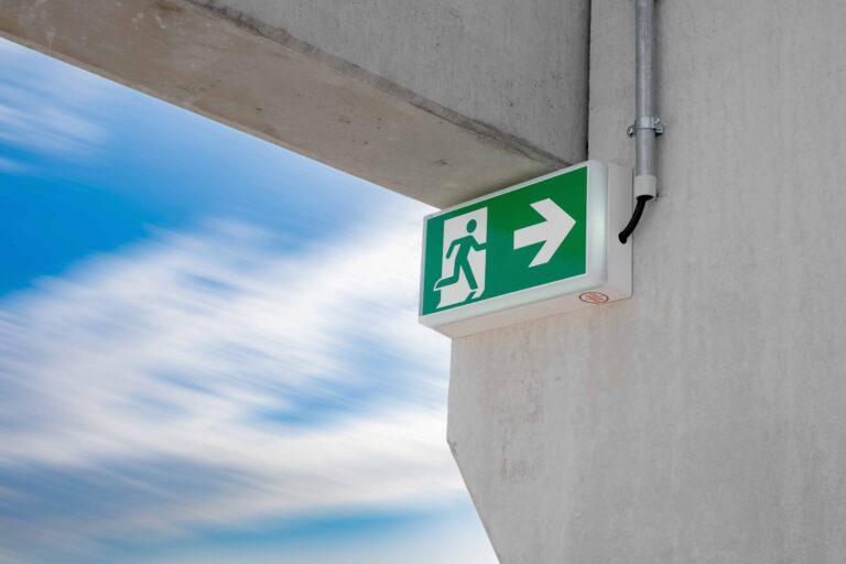 Installation signalisation de sécurité